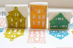 houses stamps