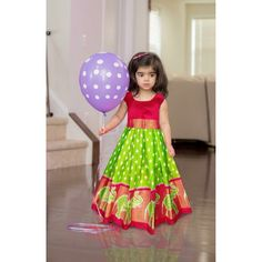ideas for baby girl dresses for wedding indian Frocks For Girls, Dresses Kids Girl, Kids Outfits, Kids Long Frocks, Baby Dresses, Kids Indian Wear, Kids Ethnic Wear, Baby Lehenga, Kids Lehenga