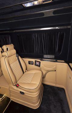 Sprinter Custom Vans Center Console Luxury Conversion