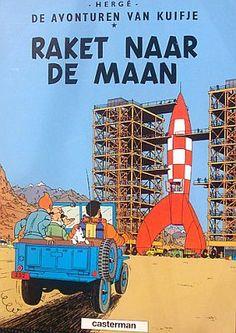 Kuifje / Tin Tin - Raket naar de maan door Herge (Casterman)