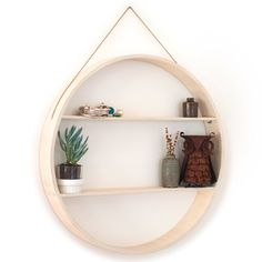 Plywood furniture Shadow box Wall hanging shelf to by Senkki, $155.00