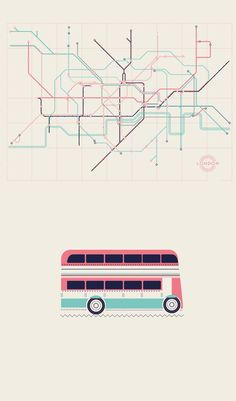 London on Behance London Poster, London Art, City Illustration, Graphic Design Illustration, Verona, London City Guide, Subway Map, City Vector, Map Design