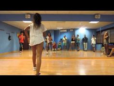 Bersy Cortez y Maria Lopez - Workshop Timba / Rumba & Salsa on 1 2014 - YouTube