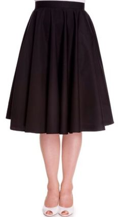Hell bunny black 50s paula #rockabilly jive #northern soul #dancing skirt 8-22,  View more on the LINK: http://www.zeppy.io/product/gb/2/121598572814/