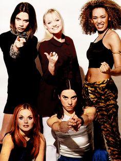 Spice Girls... loved them lol.