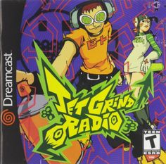 Jet Grind Radio - Dreamcast (2000) I don't think this game sold as well as it should on the Dreamcast. At the time, the colorful cel-shaded graphics were like playing in a cartoon world where you tagged or graffiti certain parts of Tokyo to claim as yours and evade cops or bad guys. Such a great art style complimented by great gameplay and superb soundtrack. Also available for free on Steam in HD.