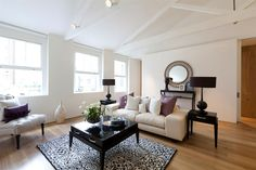 Birght and airy living room