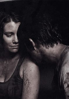 The Walking Dead ... Maggie and Glenn <3 <3 <3