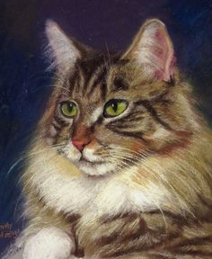 Your Pet's Portrait  in Pastels  9x 12 by CindyEdzenga on Etsy,