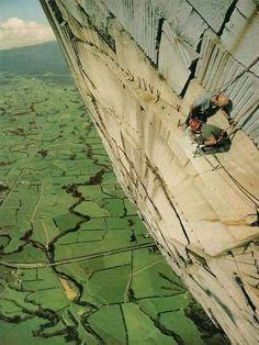 aerial climb