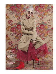 IO DONNA: Ageless Style / khaki + fuschia, red