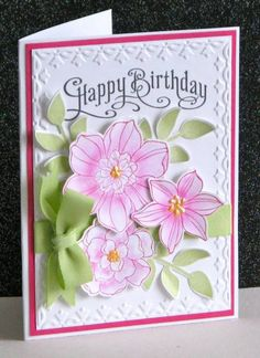 Emma's 89th! by Broom - Cards and Paper Crafts at Splitcoaststampers