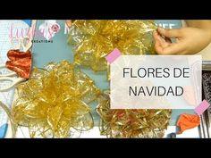 Flores de Navidad - ¡Llego navidad! 🌲🎅 | Luzka's Creations ✿ - YouTube