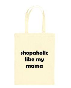 Totenmet bag mini met tekst Kleine katoenen tas ook blanco verkrijgbaar, leuk cadeautje