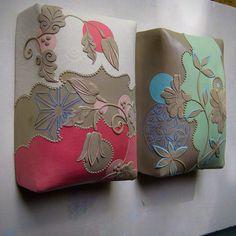 Kristen Kieffer wall pillows in progress