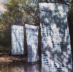 Shibori Curtains by Right Tribe