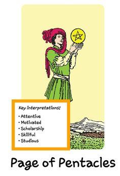 Page Of Pentacles, Daily Tarot, Motivation, Memes, Meme, Inspiration