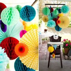 Party & Home Decoration, stunning colours!!!