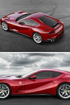 Ferrari 812 Superfast cranks to 789 HP E Class Amg, Car Manufacturers, Car Photos, Rolls Royce, Fast Cars, Exotic Cars, Bugatti, Volvo, Luxury Cars