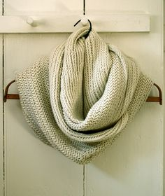I made this scarf from Purl Bee.  It is really beautiful.