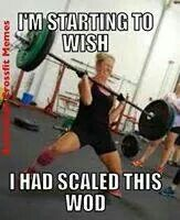 Crossfit - Scale that wod!