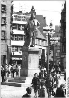 Händeldenkmal  in Halle/Saale