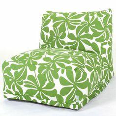 Sage Green Plantation Campus Life Style Bean Bag Lounger | FREE SHIPPING