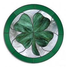Shamrock Stained Glass Pattern | shamrock.jpg 300×300 pixels | Flower Power | Pinterest