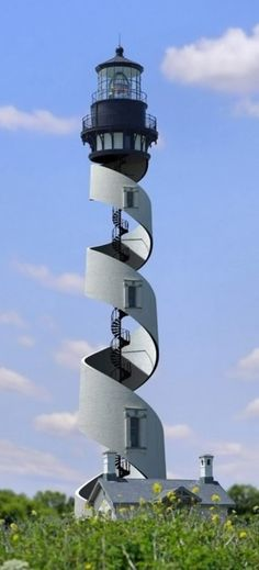Spiral lighthouse...........