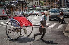Popular on 500px : Rickshaw. by jimbos