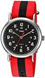 #10: Timex Weekender Red/Black Stripe Nylon Slip-Thru Strap Watch | http://ift.tt/2bpC1Iq shares Hot New Releases in Women's Watches - contain bestselling items. #watches #women #womenwatches #ladies #ladieswatches #female #female watches #fashion #latest #bestselling #loveit #iwantit