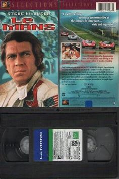Le Mans (VHS) Steve McQueen,    An American race car driver (Steve McQueen) returns to competition a year after an accident leaves him badly injured. As he prepares to face his chief rival in the famous Le Mans race, he also begins a new romance with the wife of a driver who died in the same accident that nearly killed him. Often considered the best racing film ever, LE MANS captures on film the personal intrigue and death-defying sportsmanship of the world's most famous and dangerous racing