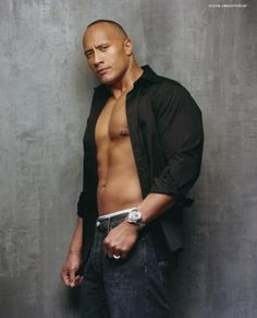 "Dwayne ""the Rock"" Johnson mens-style"