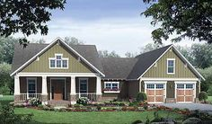 Plan W51043MM: Photo Gallery, Craftsman, Northwest, USDA Approved House Plans & Home Designs... love this  little house! so cute!