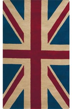 Patriot Area Rug - Is it my love for Def Leppard?  I'm not sure, but I want this rug for my living room.