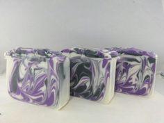 Black Raspberry vanilla handmade soap.
