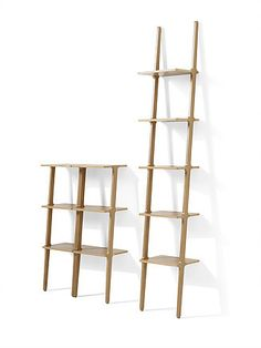 Michaël Bihain's unique shelving unit was named furniture of the year by Swedish Elle Decoration in 2009. In 2016, the Libri family is expanded with two lower models: 95 cm (two shelves) and 132 cm…