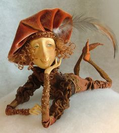 Dimoli art (doll art) beautiful collection! Great polymer clay ideas!