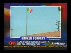 Lou Dobbs - Mexican flag raised in Maywood, California