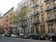 great little apartment buildings,in Hells kitchen,New York.