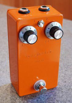 AC127 Tonebender MK II fuzz clone, guitar effects pedal