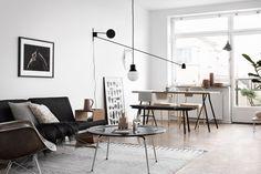 Scandinavian interior design with ikea classic: moment sofa by Niels Gammelgaard