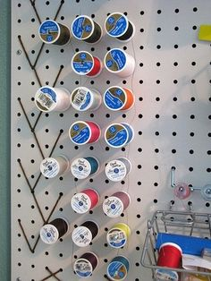 10 pegboard organization ideas