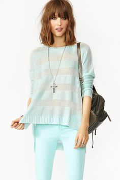 Illusion Stripe Knit   $23.20 (Final Sale was 58 Dollars)