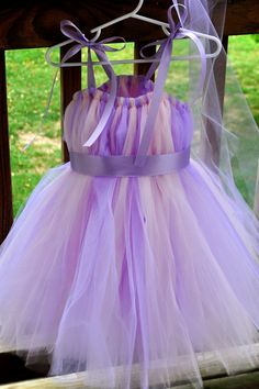 Princess Costume Purple and Pink Tutu Dress by KatrinaOfTwoMoms, $52.00
