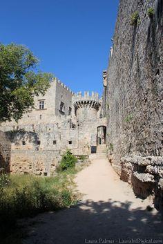 The Castle in Rhodes Town Rhodes Greece