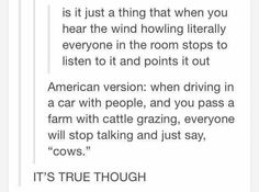 Hahaha unless you live in the country