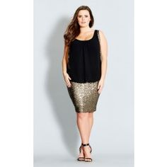 Inject sexy and edgy appeal to your fashion with our Sequin Sister Dress. Boasting a glistening sequined skirt, this lined, sleeveless dress features a V neckline, a chiffon bodice with sequin trim and keyhole detail on the back with button fastening.