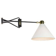 Adjustable Wall Sconces   From a unique collection of antique and modern wall lights and sconces at http://www.1stdibs.com/furniture/lighting/sconces-wall-lights/