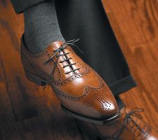 Clifford wing tip by Crockett & Jones. I own these.